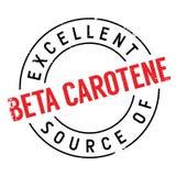 Fonte eccellente di bollo del beta-carotene Immagine Stock Libera da Diritti