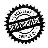 Fonte eccellente di bollo del beta-carotene Fotografia Stock