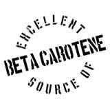 Fonte eccellente di bollo del beta-carotene Immagini Stock