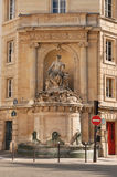 Fonte em Paris Foto de Stock Royalty Free