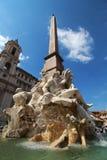 Fonte em Roma Fotografia de Stock Royalty Free