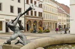 Fonte em Torgau Imagem de Stock