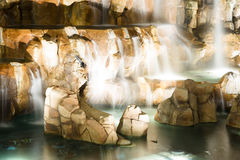 A fonte está em Las Vegas Imagem de Stock Royalty Free