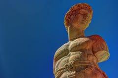 Fonte famosa da vergonha na praça barroco Pretoria, Palermo, Sicília fotografia de stock royalty free