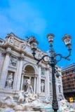 Fonte famosa em Roma, Itália Imagens de Stock