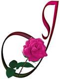 FONTE floreale della lettera J Immagine Stock