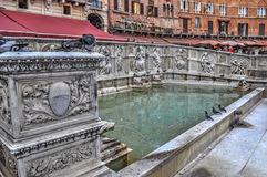 Fonte Gaia fountain Stock Photography