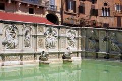 Fonte Gaia, Siena Royalty Free Stock Image