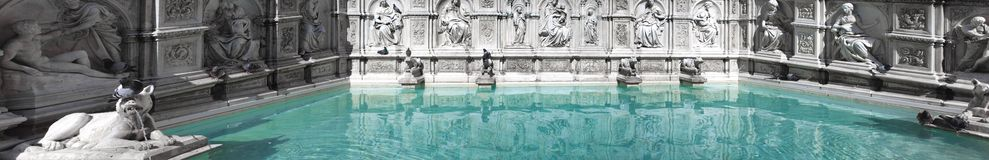 Fonte Gaia Siena Royalty Free Stock Photos