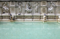 Fonte Gaia, Siena, Tuscany, Italy Royalty Free Stock Photos