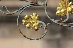 a fonte histórica detalha ornamento e objetos imagens de stock