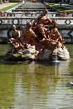 Fonte, jardim de San Ildefonso, Espanha fotos de stock