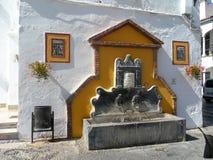 Fonte-Moeda-MALAGA-ESPANHA Imagem de Stock Royalty Free