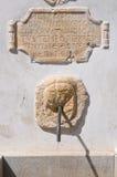Fonte monumental Morano Calabro Calabria Italy Imagens de Stock