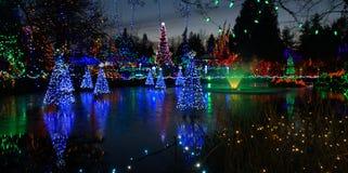 Fonte na estação do Natal Foto de Stock Royalty Free