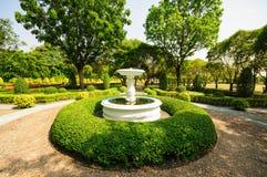 Fonte no parque Foto de Stock Royalty Free