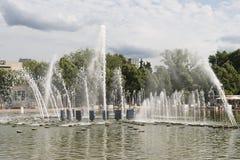 Fonte no parque Fotografia de Stock