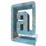 Fonte ou tipo oxidado do metal, ferro ou parte da indústria de aço Imagem de Stock Royalty Free