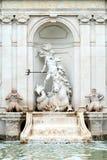 Fonte quadrada da lavagem do cavalo do capítulo, Salzburg, Áustria II imagens de stock