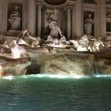 Fonte Roma do Trevi fotografia de stock