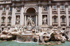 Fonte Roma Italia do Trevi Foto de Stock Royalty Free