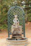 Fonte Royal Palace do La Granja de San Ildefonso, Segovia, Espanha foto de stock