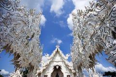 Fonte tipografica del tempiale tailandese a Chiang Rai Fotografie Stock Libere da Diritti