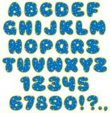 Fonte tipografica divertente 03 dei childrenâs Fotografia Stock