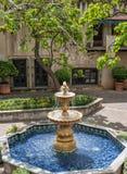 Fonte, Tlaquepaque em Sedona, o Arizona Imagens de Stock Royalty Free