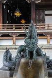 Fontein in de yard van de Oostelijke Tempel van de Originele Gelofte royalty-vrije stock fotografie