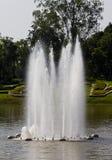 Fontein in het Park Royalty-vrije Stock Afbeelding