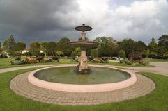 Fontein in het park Stock Foto