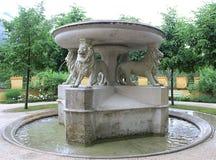 Fontein in Hohenschwangau-Kasteel Royalty-vrije Stock Fotografie