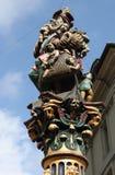 Fontein Kindlifresserbrunnen bern zwitserland stock foto