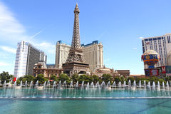 Fontein in Las Vegas Stock Fotografie