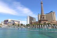 Fontein in Las Vegas Royalty-vrije Stock Foto's