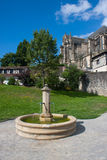 Fontein in Limoges Royalty-vrije Stock Afbeelding