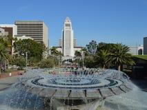 Fontein in Los Angeles stock foto's