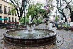 Fontein, Mexico Stock Afbeeldingen
