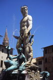 Fontein Neptunus. stock fotografie