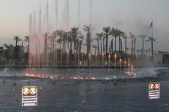 Fontein op Operaalgemene vergadering, Koeweit Stock Foto