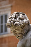 Fontein op Piazza Navona, Rome Royalty-vrije Stock Afbeelding