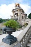 Fontein in park DE La Ciutadella Royalty-vrije Stock Fotografie