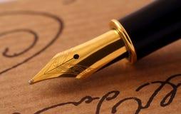 Fontein-pen Royalty-vrije Stock Afbeelding