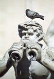 Fontein in Rome stock afbeeldingen