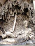 Fontein in Rome, Italië Stock Afbeeldingen