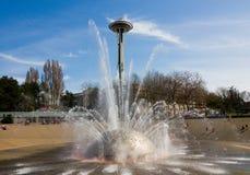 Fontein in Seattle Royalty-vrije Stock Foto's