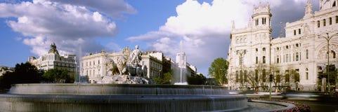 Fontein van Cibeles, Madrid, Spanje Stock Afbeeldingen