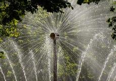 Fontein van de zon Stock Afbeelding