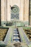 Fontein van Hassan II Stock Foto